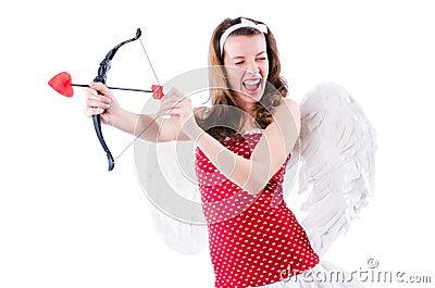 Mujer con el arco