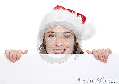 Mujer de la Navidad