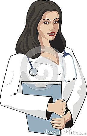 Mujer del doc.