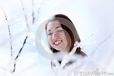 Mujer del invierno