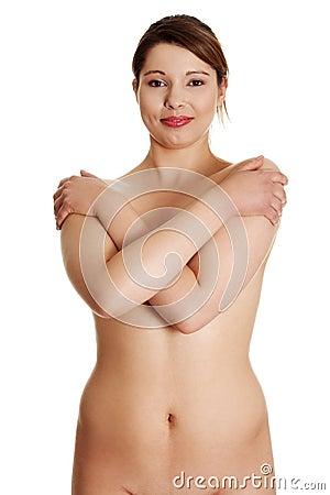 Mi esposa gorda desnuda en
