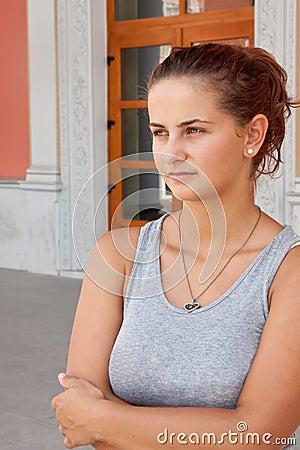 Mujer joven hermosa