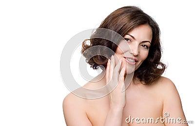 Mulher de meia idade bonita