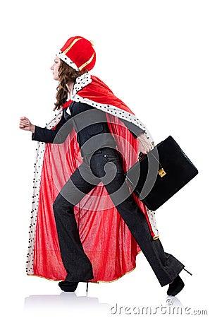 Mulher de negócios da rainha