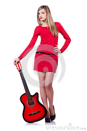 Mulher do guitarrista