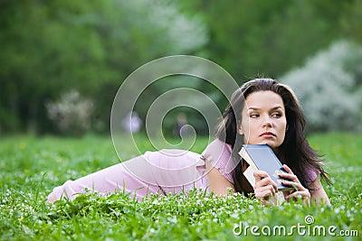 Mulher no parque