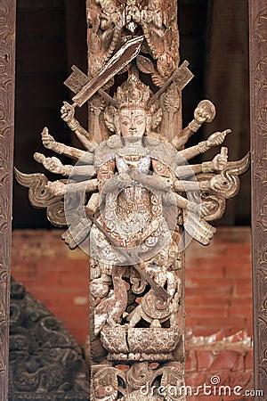 Multi armed Goddess