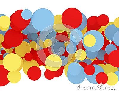 Multi color circles