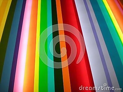 Multi Color Stripe Pattern Background