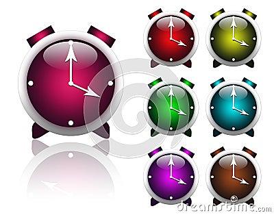 Multi-colored alarms