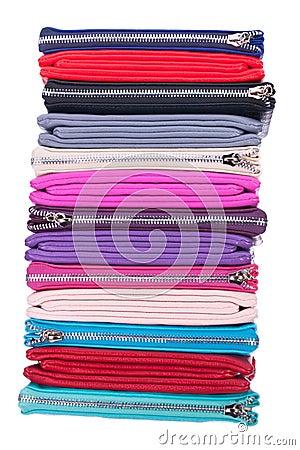 Multi-colored bag, clutch