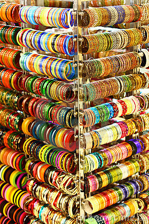Multi Colored Bangles from India