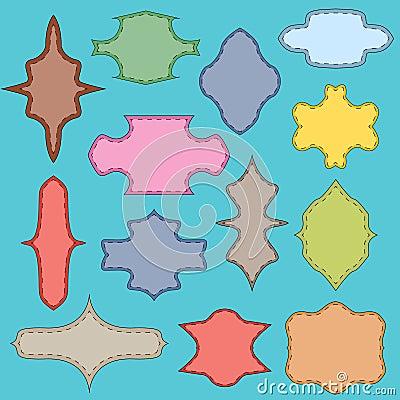 Multi-colored framework