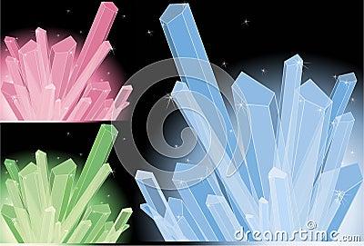 Multi-colored quartz