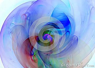 Multi-colored Swirl