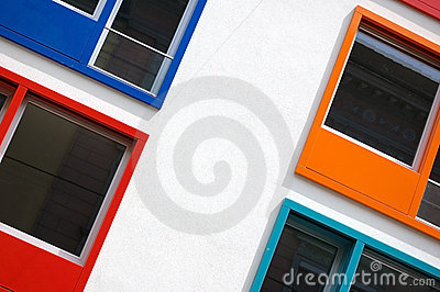 Multi Colored Windows