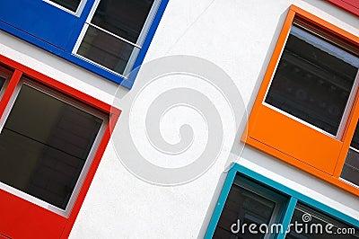 Multi Colored Windows