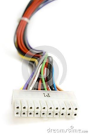 Multi colored wires