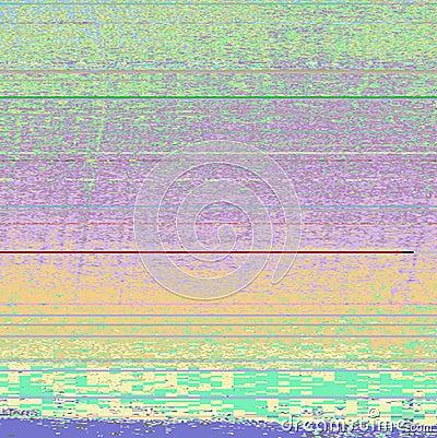 Free Multi-coloured, Digital Computer Glitch Texture Stock Photography - 95959882