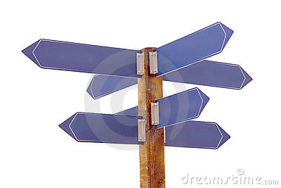 Multi direction signpost
