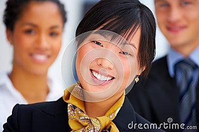 Multi-ethnic business portrait