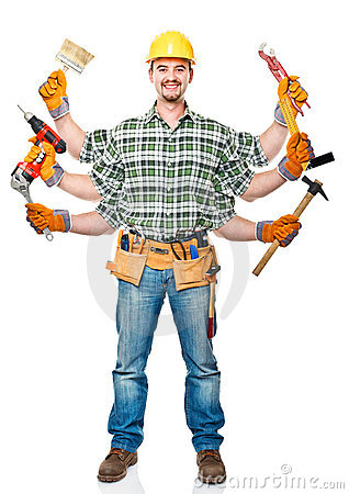 Free Multi Handyman Royalty Free Stock Photos - 22033108