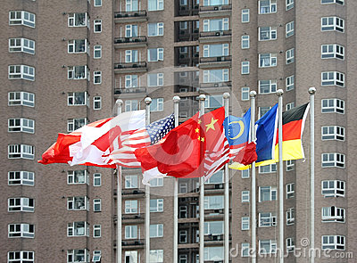 Multi-nation flags