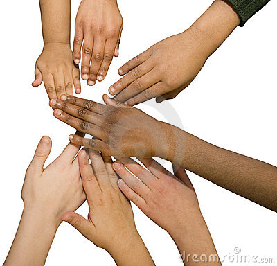Multi Racial Hands