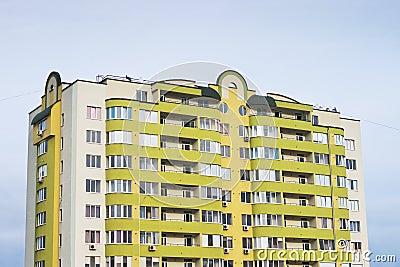 Multi-storied apartment building
