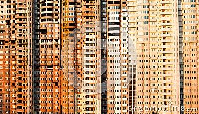 Multi-storied building construction