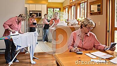 Multi-tasking Household Chores