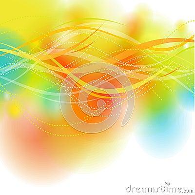 Multicolor bright background