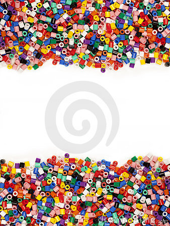 Free Multicolor Modelling Beads Stock Image - 21470101