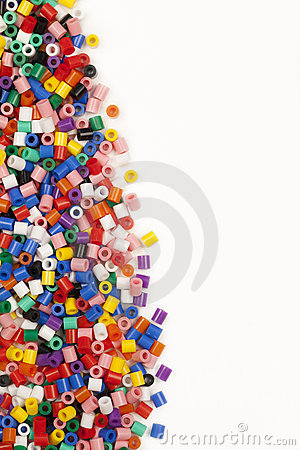 Free Multicolor Modelling Beads Edge Royalty Free Stock Photo - 21484595