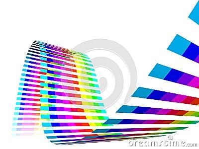 Multicolor Rainbow Straps