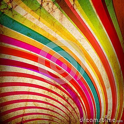 Multicolor Sunbeams grunge