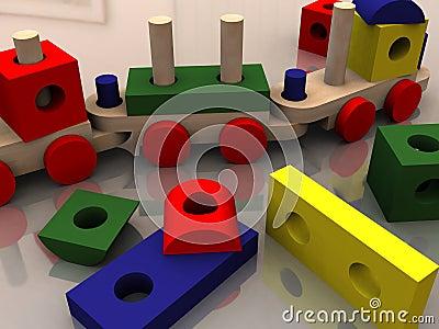 Multicolor toys