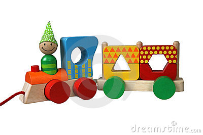 Multicolor train 7
