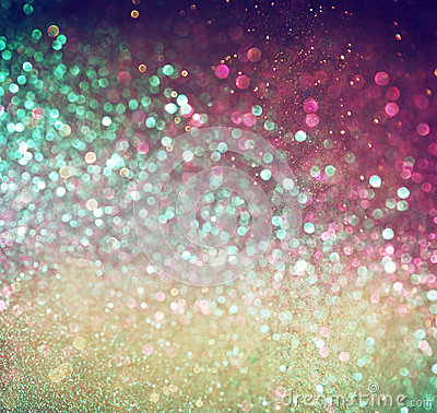Free Multicolor Vintage Style Bokeh Lights. Defocused Abstract Background. Stock Image - 41577861