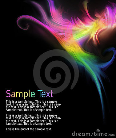 Free Multicolored Abstract Wave Design Royalty Free Stock Images - 13542489