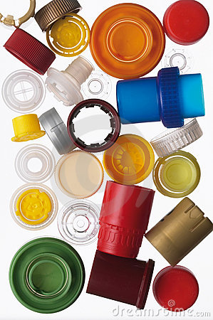 Free Multicolored Bottle Caps Royalty Free Stock Image - 21164056