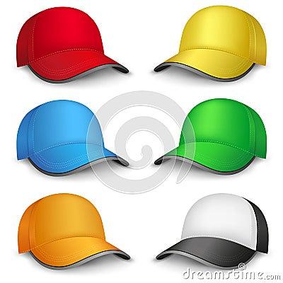 Free Multicolored Caps Stock Photo - 40157850