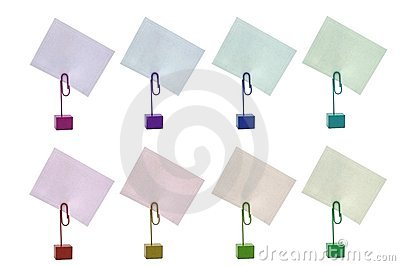 Multicolored Card Holders