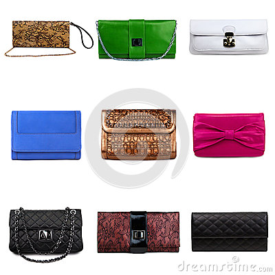 Multicolored female purses-7