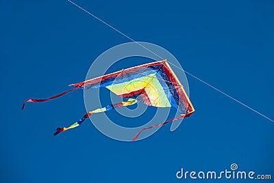 Multicolored kite