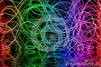 Multicolored  lights