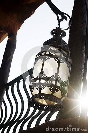 Free Multicolored Moroccan Lamp Royalty Free Stock Image - 30436346