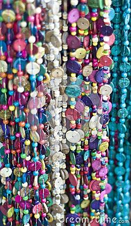Multicolored necklaces