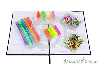 Multicolored office staff