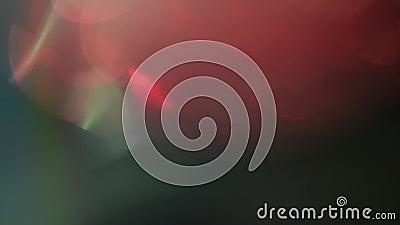 Multicolored rgb effect van de de filmbrandwond van het kanalen lichte lek stock videobeelden